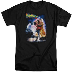Back To The Future Ii Poster Adult Tri-Blend T-Shirt