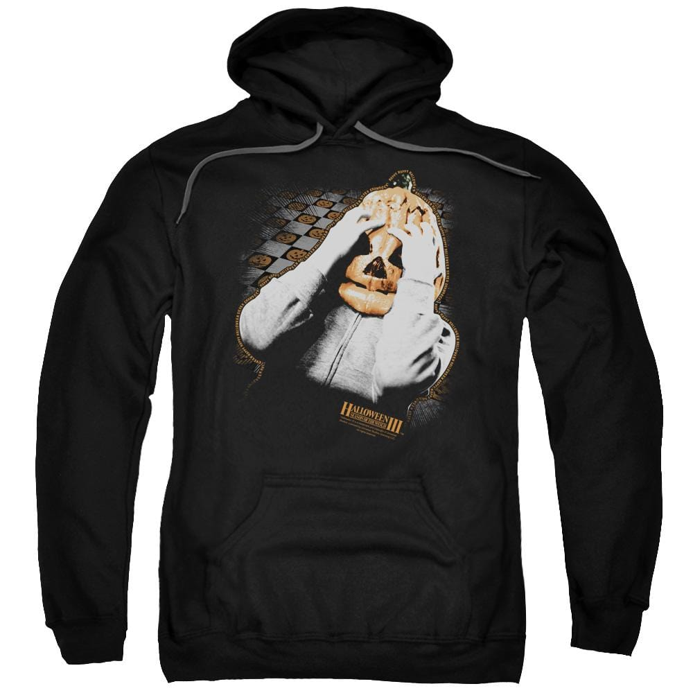 Halloween Iii - Pumpkin Mask Adult Pull-Over Hoodie