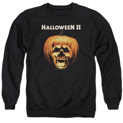 Halloween Ii - Pumpkin Shell Adult Crewneck Sweatshirt