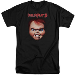 Childs Play 3 Chucky Adult Tri-Blend T-Shirt