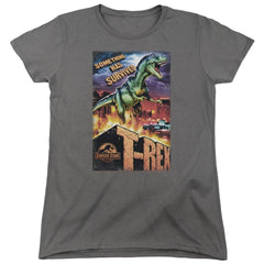 Jurassic Park - Rex In The City Women's T-Shirt