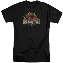 Jurassic Park Something Has Survived Adult Tall Fit T-Shirt