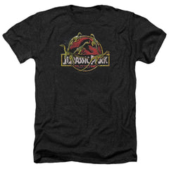 Jurassic Park Something Has Survived Adult Regular Fit Heather T-Shirt