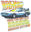 Back To The Future 88 Mph Juniors T-Shirt