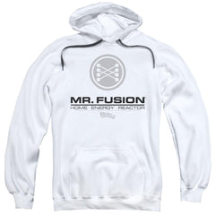 Back To The Future Ii Mr. Fusion Logo Adult Pull-Over Hoodie