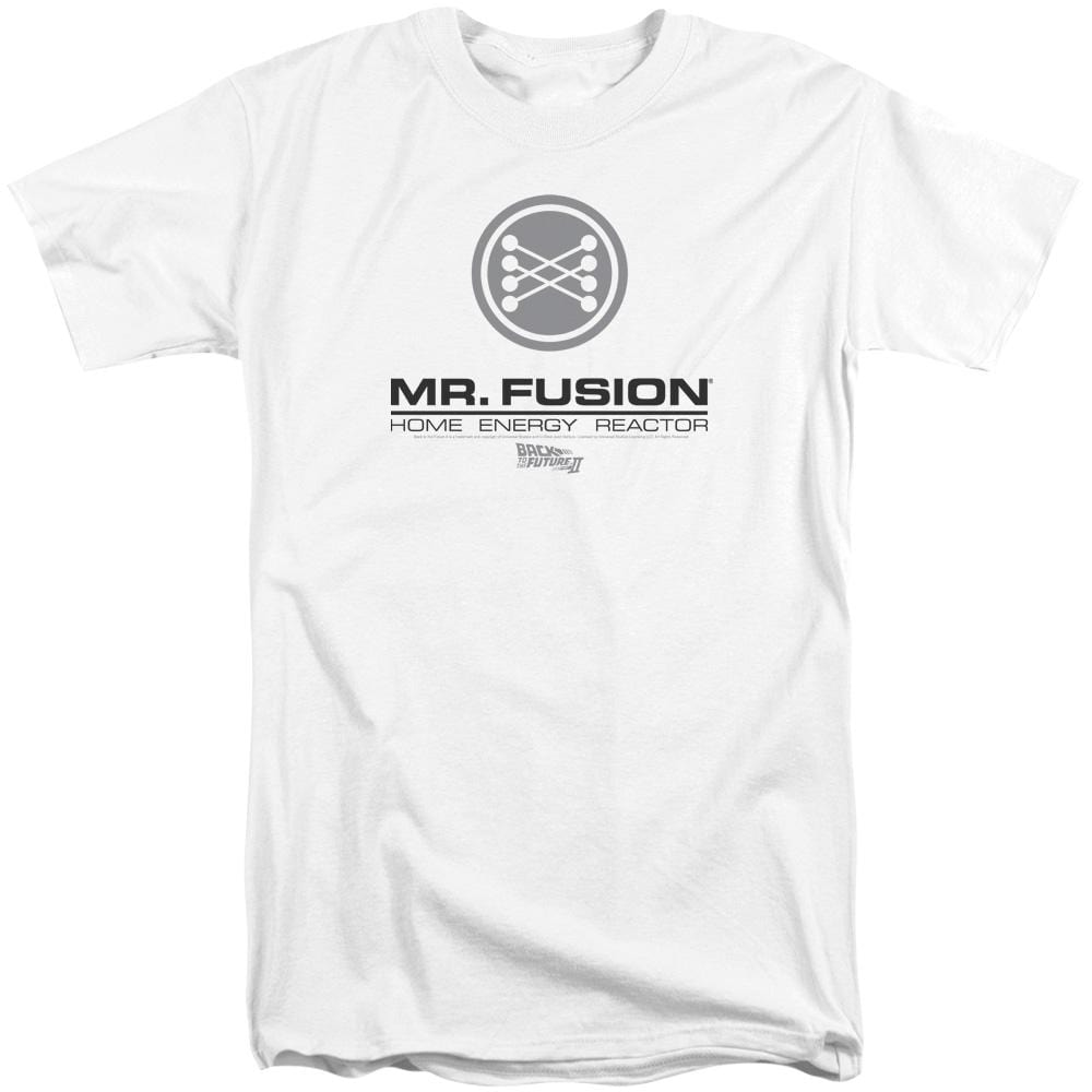 Back To The Future Ii Mr. Fusion Logo Adult Tall Fit T-Shirt