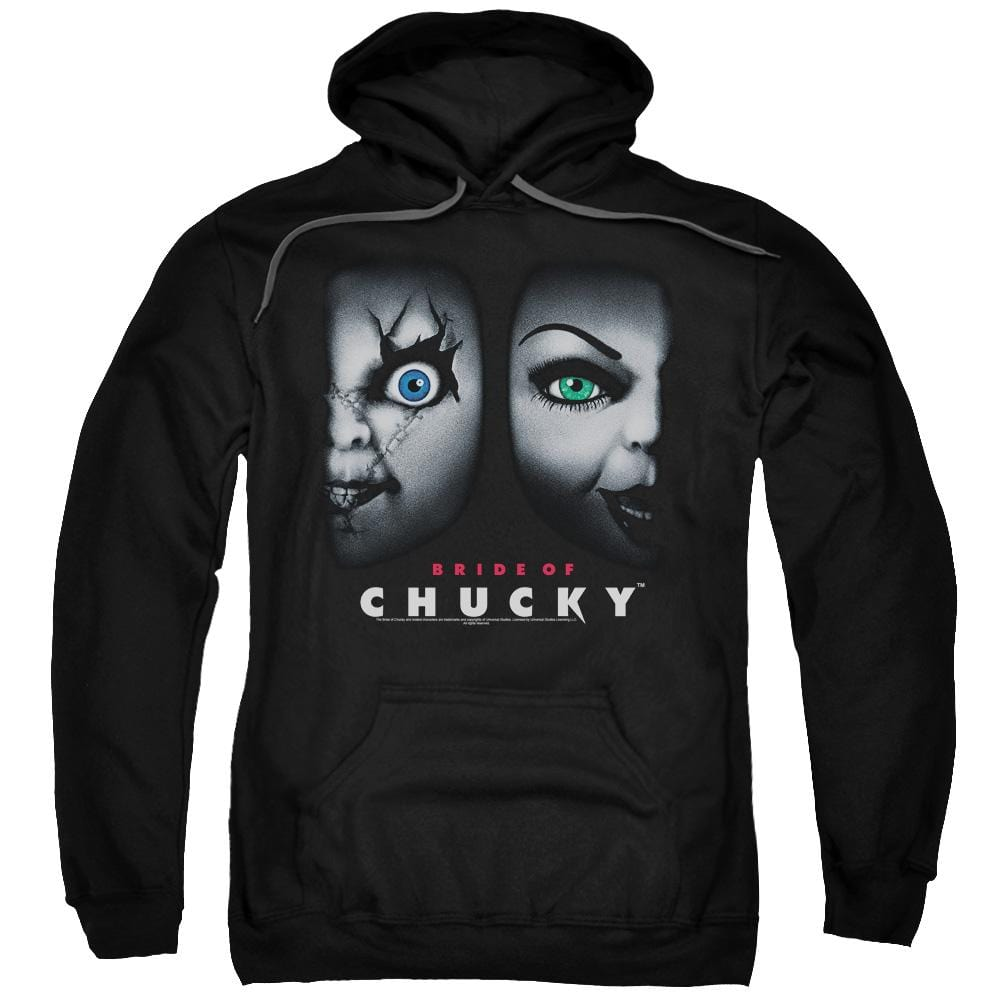 Bride Of Chucky - Happy Couple Adult Pull-Over Hoodie