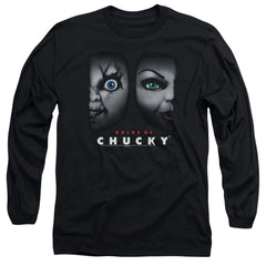 Bride Of Chucky - Happy Couple Adult Long Sleeve T-Shirt
