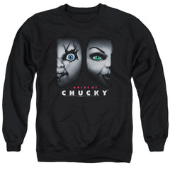 Bride Of Chucky - Happy Couple Adult Crewneck Sweatshirt