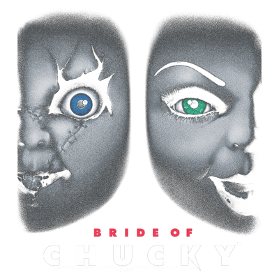 Bride of Chucky Happy Couple Pullover Hoodie
