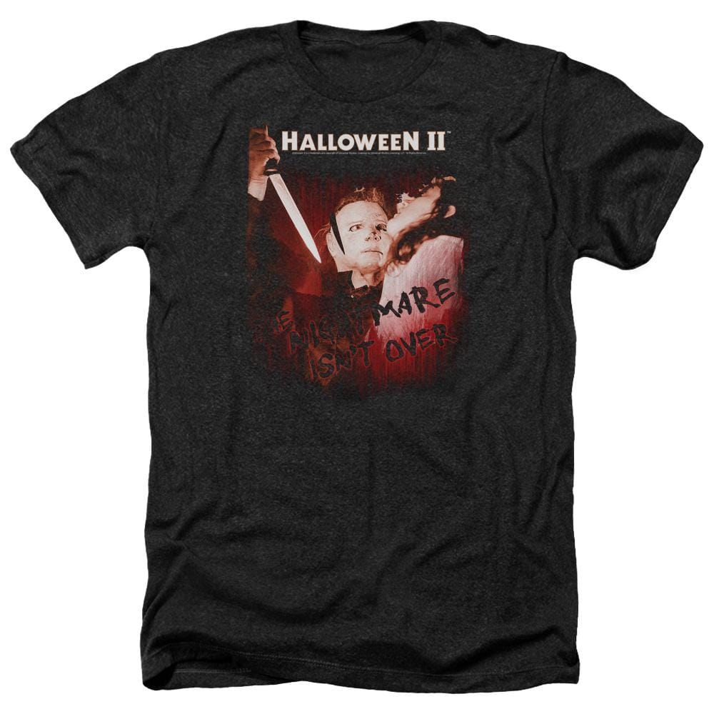 Halloween Ii Nightmare Adult Regular Fit Heather T-Shirt