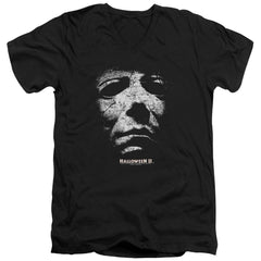 Halloween Ii - Mask Adult V-Neck T-Shirt