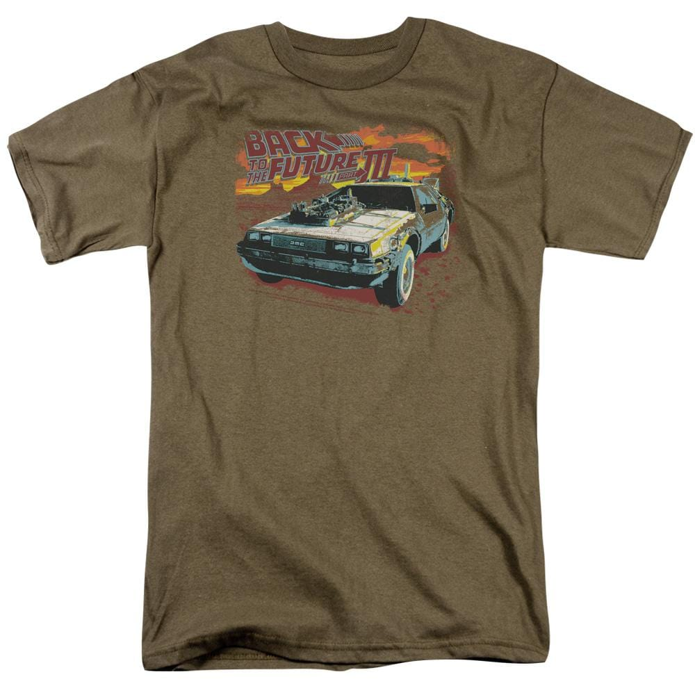 Back To The Future III - Wild West Adult Regular Fit T-Shirt