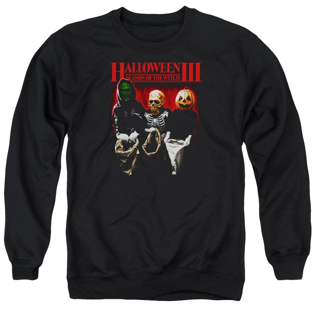 Halloween Iii - Trick Or Treat Adult Crewneck Sweatshirt