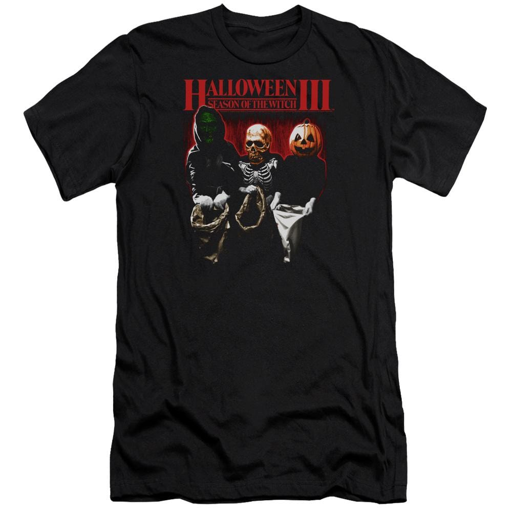 Halloween Iii Trick Or Treat Premium Adult Slim Fit T-Shirt