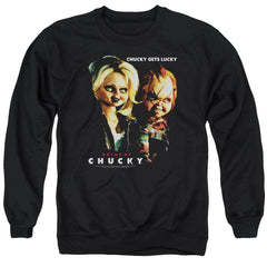 Bride Of Chucky - Chucky Gets Lucky Adult Crewneck Sweatshirt