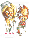 Bride of Chucky Chucky Gets Lucky Men's Regular Fit T-Shirt