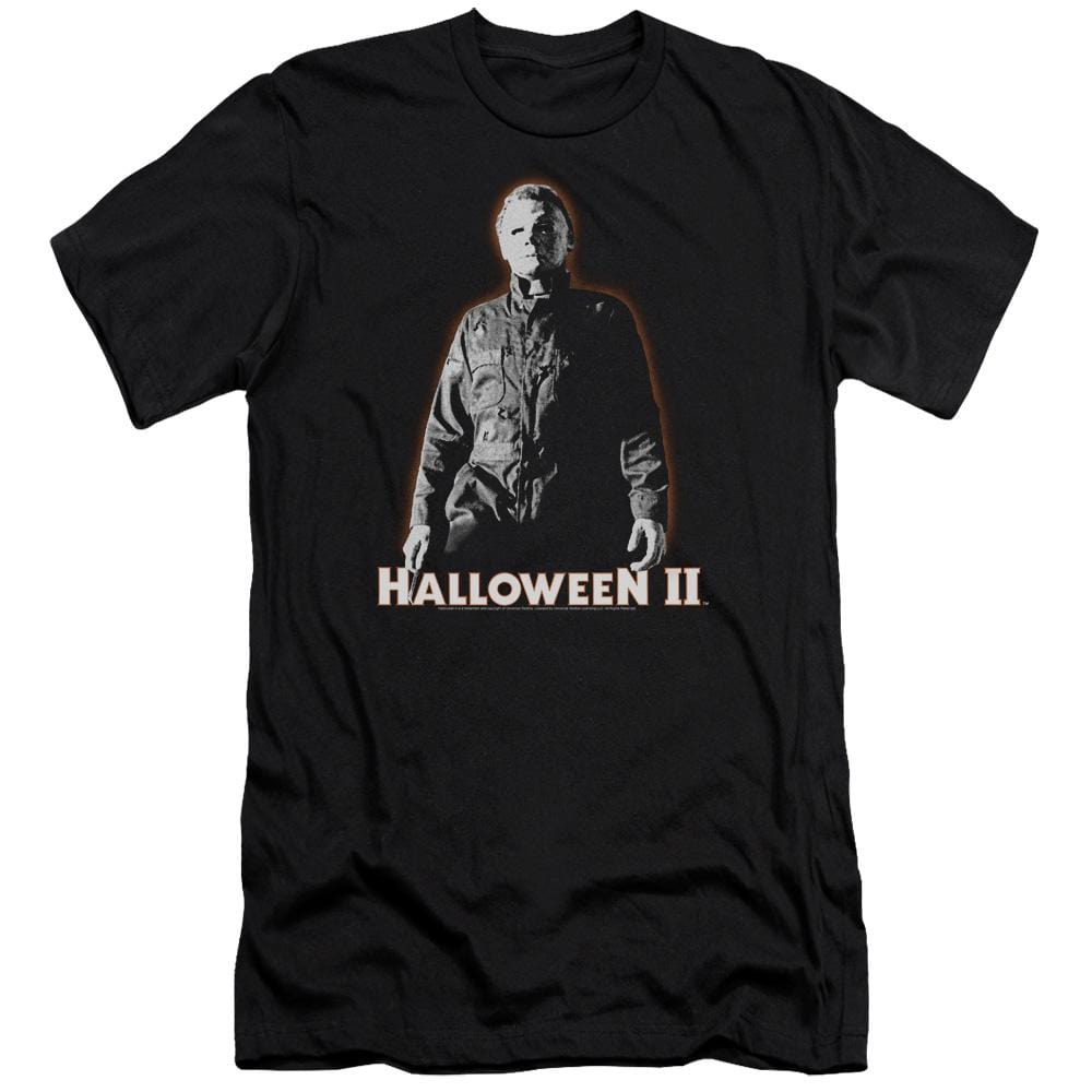 Halloween Ii Michael Myers Premium Adult Slim Fit T-Shirt