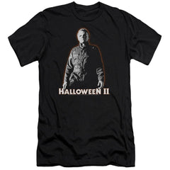 Halloween Ii - Michael Myers Adult Slim Fit T-Shirt