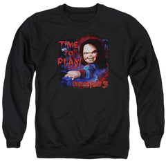 Childs Play 3 - Time To Play Adult Crewneck Sweatshirt