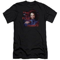 Childs Play 3 Time To Play Premium Adult Slim Fit T-Shirt