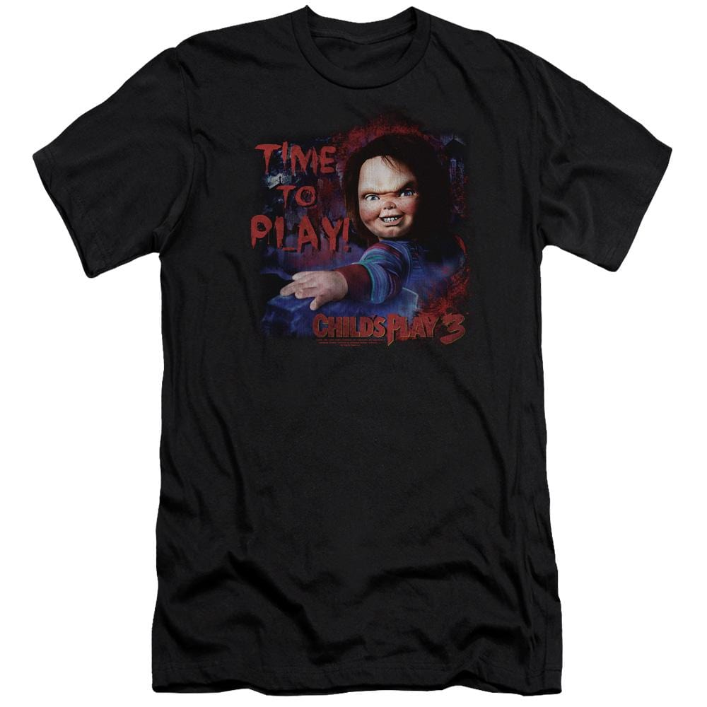 Childs Play 3 - Time To Play Adult Slim Fit T-Shirt