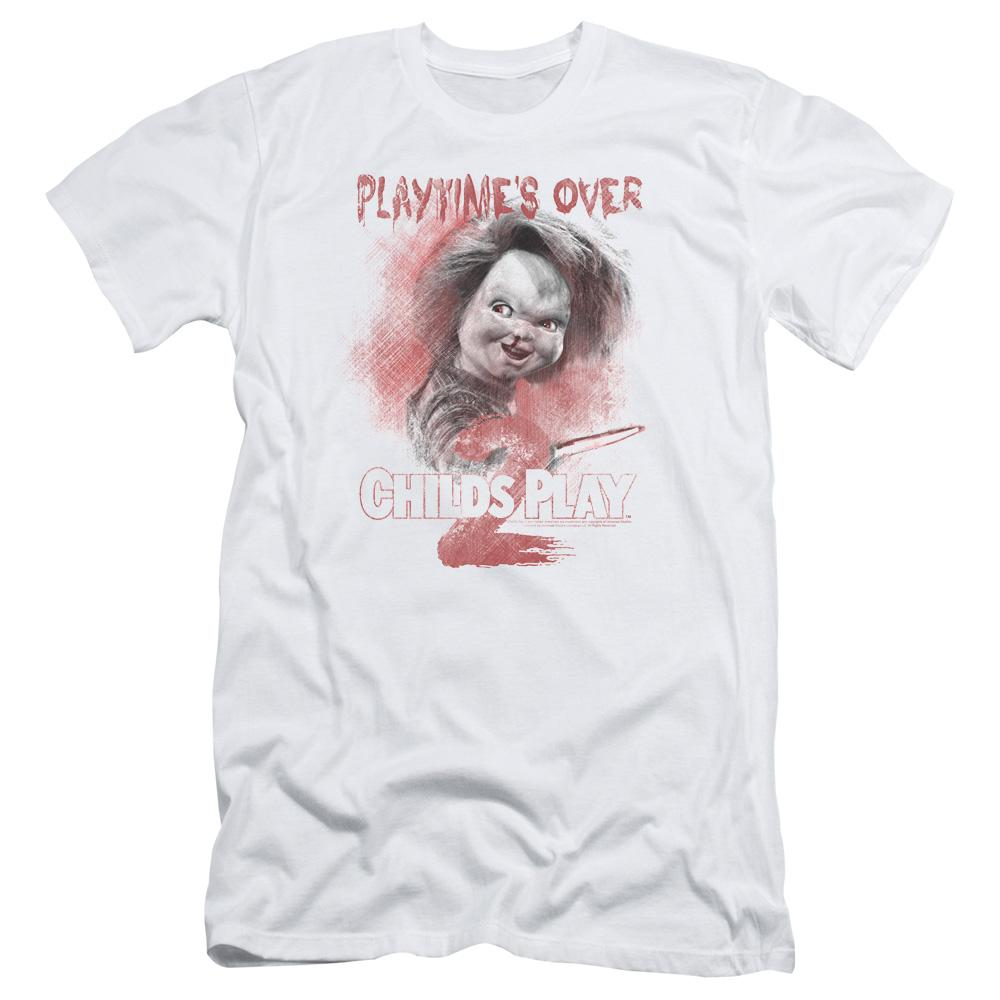 Childs Play 2 - Playtimes Over Adult Slim Fit T-Shirt