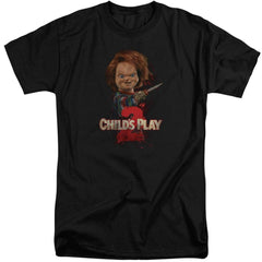 Childs Play 2 Heres Chucky Adult Tall Fit T-Shirt
