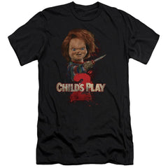 Childs Play 2 - Heres Chucky Adult Slim Fit T-Shirt