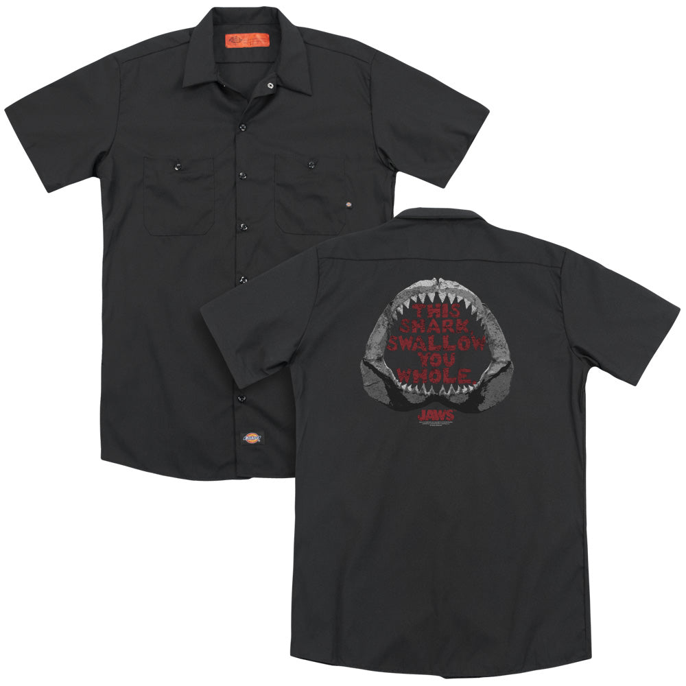 Jaws This Shark Adult Work Shirt