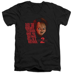 Childs Play 2 - In Heaven Adult V-Neck T-Shirt
