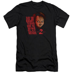 Childs Play 2 In Heaven Premium Adult Slim Fit T-Shirt
