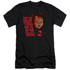 Childs Play 2 - In Heaven Adult Slim Fit T-Shirt