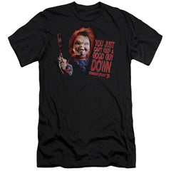 Childs Play 3 Good Guy Premium Adult Slim Fit T-Shirt