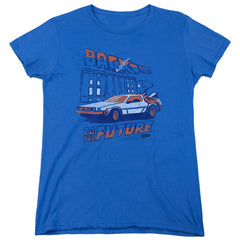 Bttf - Ligtning Strikes Women's T-Shirt