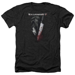 Halloween Ii Cold Gaze Adult Regular Fit Heather T-Shirt