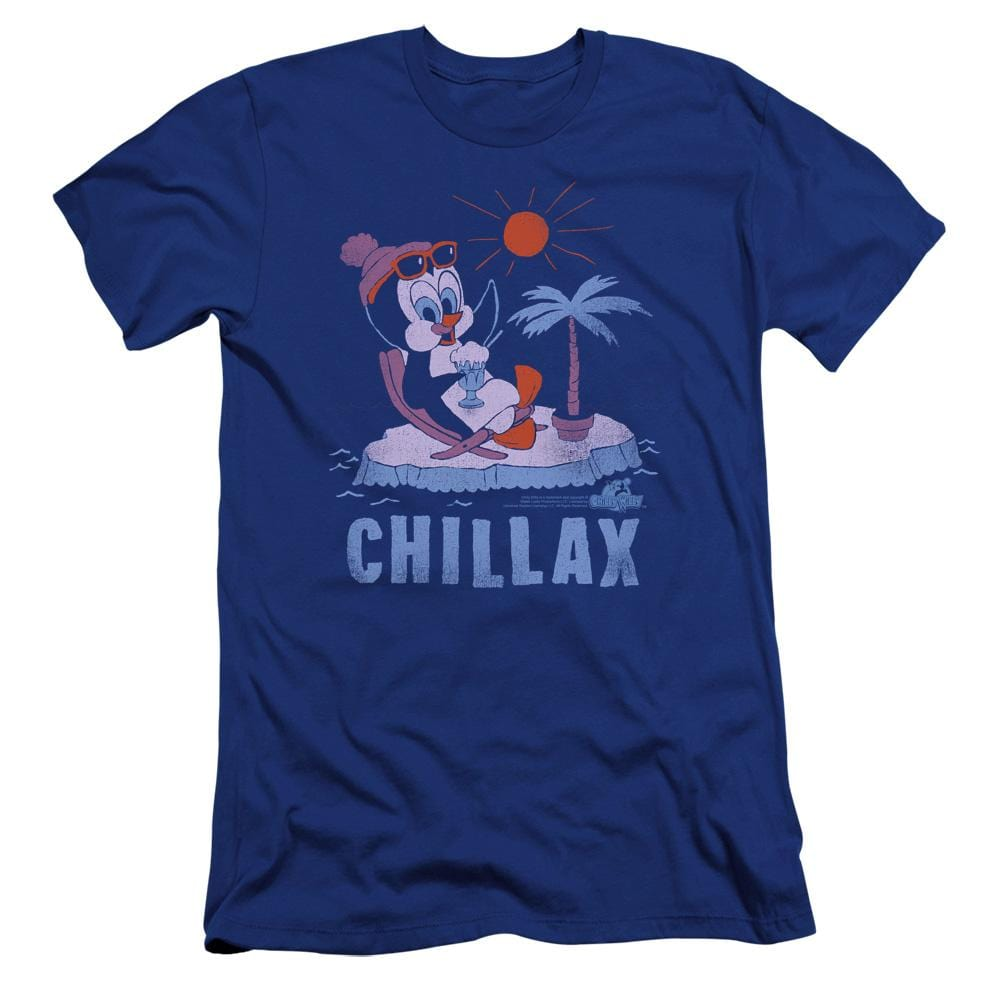 Chilly Willy Chillax Premium Adult Slim Fit T-Shirt