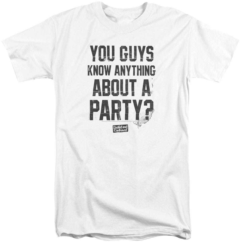 Dazed And Confused Party Time Adult Tall Fit T-Shirt