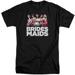 Bridesmaids Maids Adult Tall Fit T-Shirt