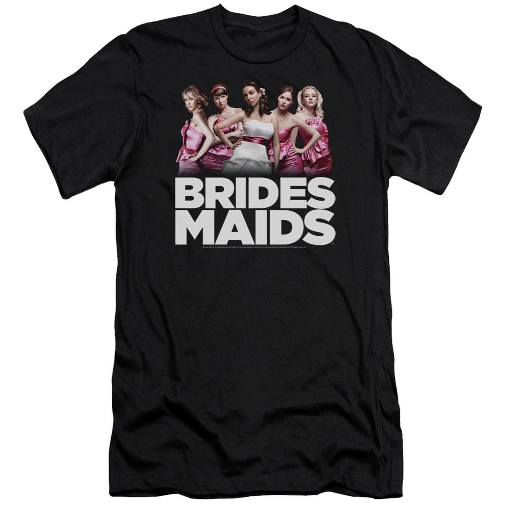 Bridesmaids Maids Premium Adult Slim Fit T-Shirt