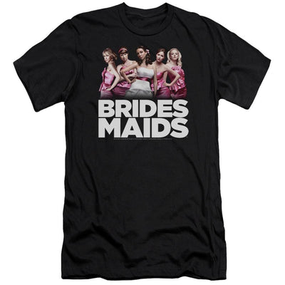 Bridesmaids Maids Men's Premium Slim Fit T-Shirt