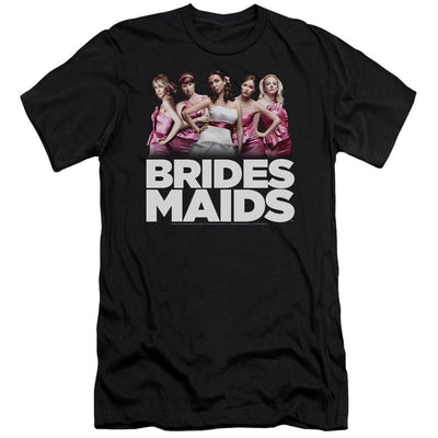 Bridesmaids Maids Men's Slim Fit T-Shirt