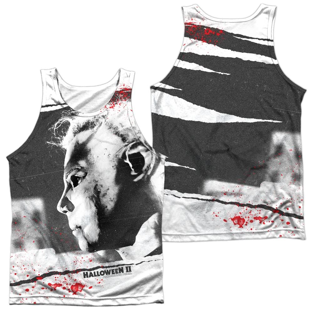 Halloween Ii - Myers Mask Adult Tank Top