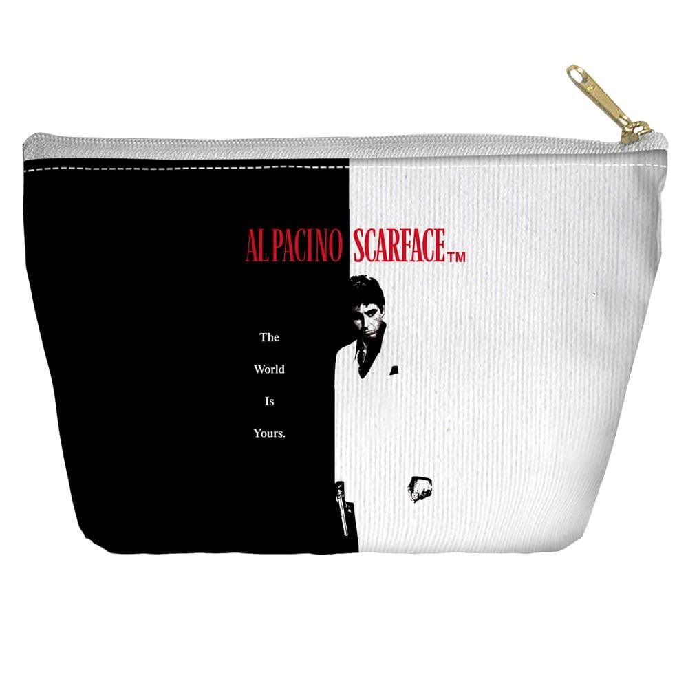 Scarface - Poster Tapered Bottom Pouch