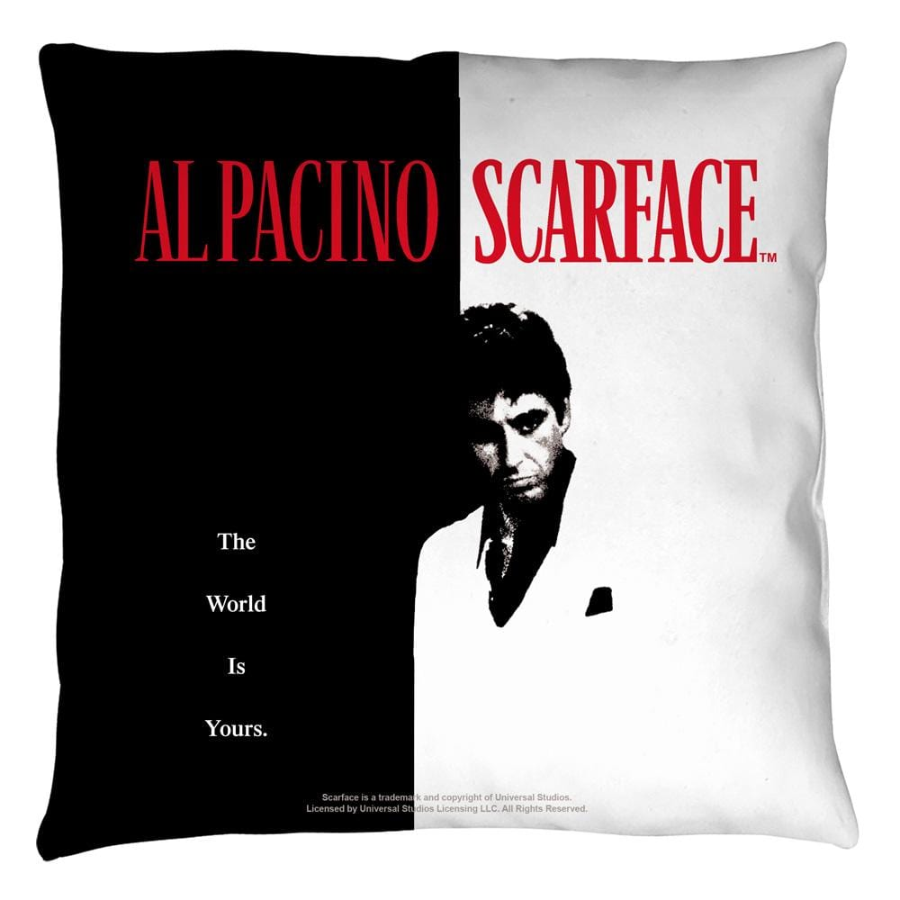 Scarface - Poster Throw Pillow
