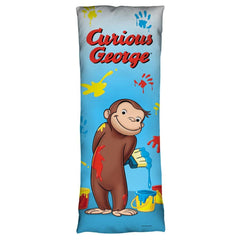 Curious George - Paint Body Pillow