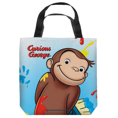 Curious George - Paint Tote Bag