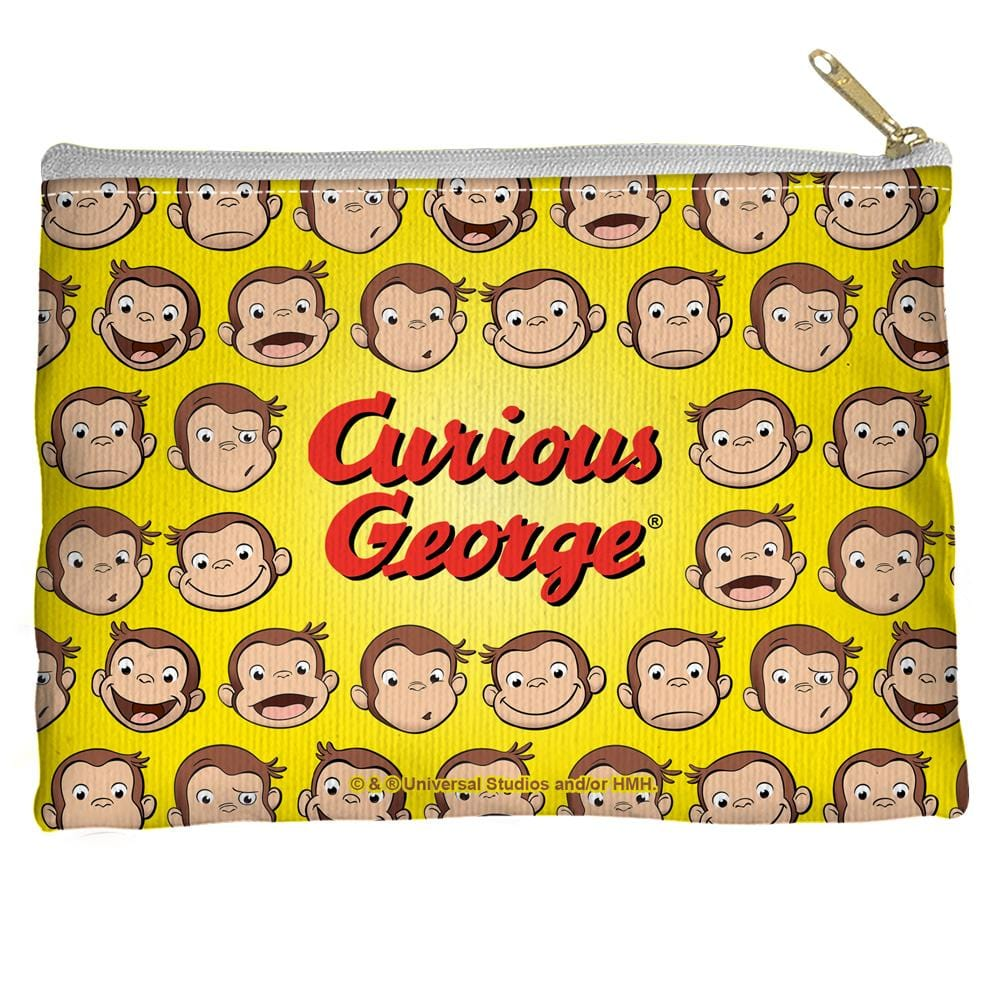 Curious George - Heads Straight Bottom Pouch