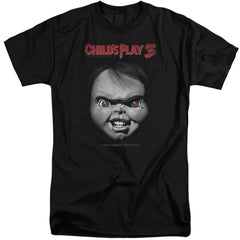 Childs Play 3 Face Poster Adult Tall Fit T-Shirt