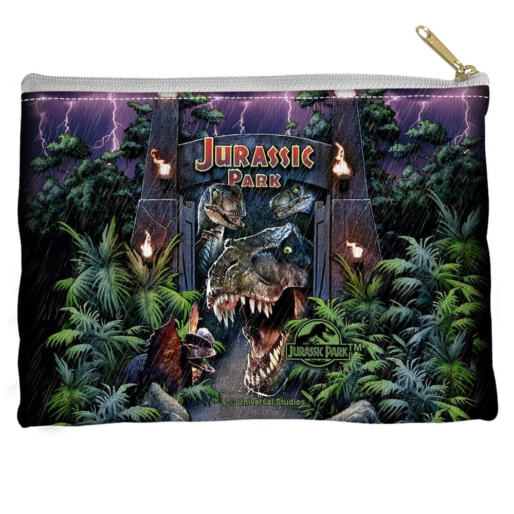 Jurassic Park - Welcome To The Park Straight Bottom Pouch